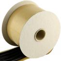 040702 Лента-герметик с каучуковым уплотнителем <APP-Butyltape> черная (валик), 8мм x 15м