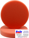 """04402 Круг полировальный PYRAMID крепление """"липучка"""", высота 25мм, d150мм, плоский, оранжевый"""