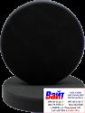 """04403 Круг полировальный PYRAMID крепление """"липучка"""", высота 25мм, d150мм, плоский, черный"""