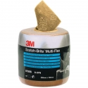 07906 Абразивный рулон 3M Scotch-Brite MX-SR A XFN (медный) с перфорацией, 102мм х 203мм х 60шт
