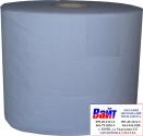 Полотенце техническое трехслойное SOTRO BLUE TECH 192 м/п - синее (800 отрывов)
