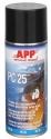 212016 Пенка для очистки салонов авто APP PC 25 в аэрозоле, 400 мл