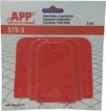 Набор пластиковых шпателей АРР (3 шт./компл.)