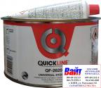 Универсальная полиэфирная шпатлевка QuickLine QF-2620, 1,8 кг