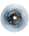 30129 RB-ZB Круг полимерный Scotch-Brite Bristle, радиальный, тип С, синий, d 75мм, Р400