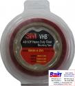 49206 3M Двусторонняя VHB клеющая лента 4910F толщина 1.0 мм, цвет прозрачный, 6мм х 2м