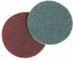 Абразивный диск 3M Scotch-Brite SC-DH (скотч-брайт) для угловых шлифовальных машин, d115мм, A VFN (зеленый)