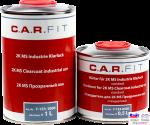 7-153-1500, C.A.R.FIT, 2K MS Clearcoat, Двухкомпонентный глянцевый акриловый лак Medium Solid 2:1, комплект 1 + 0,5л