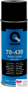 70-420-0402, Q-Refinish, Краска Rallye Spray аэрозоль 400мл, черный глянец