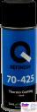 70-425-0401, Q-Refinish, Краска Thermo Сoating аэрозоль термостойкая 400мл, черная, до 650°C