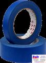 9-185-5040, C.A.R.FIT, Лента маскировочная, синяя влагоустойчивая (до 120°С), 50мм х 40м