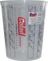 Емкость мерная пластиковая для смешивания красок COLAD без крышки, 2,3л