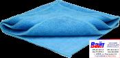 999066, Koch Chemie, PROFI-MICROFASERTUCH BLAU, Голубая полировочная микрофибра с обработанными краями