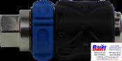 AH025507 ANI TM3 Быстросъемник (мама) TM3 внутренняя резьба 1/4F с фиксатором и регулятором подачи воздуха