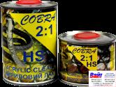 Cobra Clear HS Лак Акриловый HS, 1л + отвердитель 0,5л
