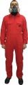 Комбинезон малярный, хлопковый 100%, COLAD, красный, многоразовый (размер L)