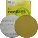 Круг абразивный Deerfos GOLD VELCRO, D150mm, без отверстий, P100