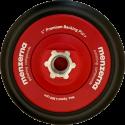 26931.099.001, Menzerna, Платформа полировальная на липучке под круги 123мм, красная, M14