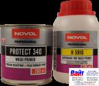 Грунт кислотный, протравливающий Novol 340 1+1, с отвердителем, 0,2л+0,2л