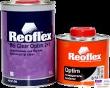 RX C-05 Optim MS Clear 2+1, Reoflex, Двухкомпонентный акриловый лак (1,0л) в комплекте с отвердителем RX H-05 (0,5л)