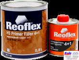 RX F-06 HS Primer Filler 4+1, Reoflex, Двухкомпонентный акриловый грунт-выравниватель 4+1, серый