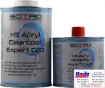 Лак бесцветный акриловый SOTRO 2K HS 2:1 Acryl Clearcoat Expert C20 (1,0 л) в комплекте с отвердителем (0,5л)