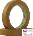 Лента малярная SOTRO PREMIUM 100`C - коричневая 45м х 18мм