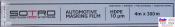T057030, SOTRO, SOTRO Automotive masking film, Пленка защитная прозрачная, 10мкм, 4м х 300м