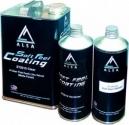 Матовый лак ALSA SOFT FEEL (3,79л) в комплекте с отвердителем (1л) и растворителем (1л)