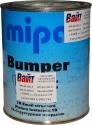 Однокомпонентная структурная бамперная краска MIPA Bumper color черная, 1л