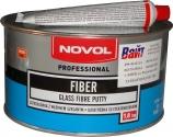 Шпатлёвка Novol FIBER со стекловолокном, 1,8 кг