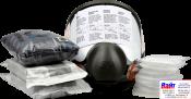3М 6800 Полнолицевая маска + малярный комбинезон + два комплекта фильтров (3М 6051, 3М 5911, 3М 501)